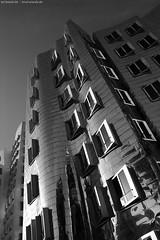 Düsseldorf 4100 (KnutAusKassel) Tags: bw blackandwhite blackwhite nb noirblanc monochrome black white schwarz weiss blanc noire blanco negro schwarzweiss grey gray grau einfarbig architektur architecture building gebäude