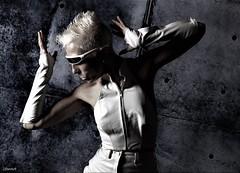 Cyborg Sadness (2forArt) Tags: artistic shoot woman model posing studio bestportraitsaoi