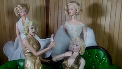 Meanwhile back at Marilyn Mansion (Cremdon) Tags: marilynmonroe marilynmansion barbie starace