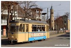 Tram Woltersdorf - 2019-01 (olherfoto) Tags: tram tramcar tramway strasenbahn vollamos woltersdorf gotha