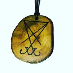 Sigil of Lucifer by Retrosheep.com #lucifer #sigil #necklace (RetrosheepCharms) Tags: retrosheep handmade gifts deals giftideas
