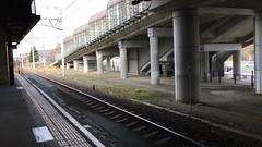 Rapid Airport Express Arrival (sjrankin) Tags: 20november2018 edited video timelapse train jrkitahiroshimatrainstation rapidairportexpress platform kitahiroshima hokkaido japan