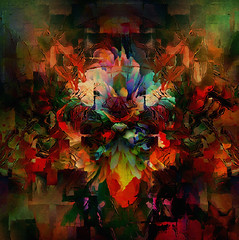 euphuism... (Mark Noack) Tags: light color photoshop layer layering surreal mystic expressionism abstract abstractexpressionism awardtree shockofthenew
