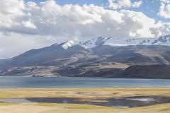 Tsomoriri #4 (jean matthieu) Tags: blue canon clood cloods color eos himalaya india indiantibet ladakh lake landscape light montain montains sky tsomoriri