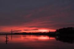 Spittal Dawn 2 (bluehousephoto.co.uk) Tags: spittal chimney chemicals reflections dawn light berwick tweedmouth docks river