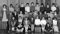 Class photo (theirhistory) Tags: boy children kids girls school class form group pupils jumper trousers jacket wellies shoes teacher gumboots