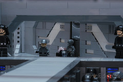 ISD Chimaera bridge entrance (Brick.Ninja) Tags: lego starwars star wars spaceship book timothy zahn scifi toy photography still life