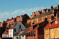 Whitby Sunshine (Mike.Dales) Tags: buildings sunshine pantiles chimneys northyorkshire england rooftops