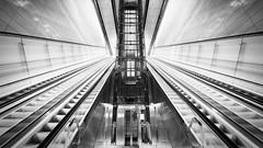 Rokin (_LABEL_3) Tags: benthemcrouwelarchitekten metro rolltreppe ubahn verkehr escalator subway amsterdam provinznordholland niederlande nl rokin