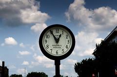 Speedway Indiana Town Clock (Bracus Triticum) Tags: speedway indiana town clock 1255 8月 八月 葉月 hachigatsu hazuki leafmonth 2018 平成30年 summer august indianapolis インディアナポリス インディアナ州 unitedstates usa アメリカ合衆国 アメリカ