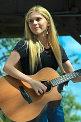 Ayla Lynn -- Swamp Cabbage Festival 2018 (forestforthetress) Tags: aylalynn woman singer song guitar music musician outdoor color omot nikon festival swampcabbagefestival swampcabbage florida labelle labelleflorida gig concert stage google people face