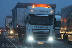 DAF XF Musgrave Transport UK67 MTL (SR Photos Torksey) Tags: transport truck haulage hgv lorry lgv logistics road commercial vehicle freight traffic daf xf musgrave