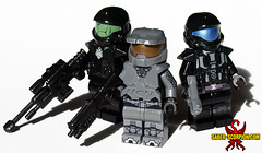 The First Line of Defense (Saber-Scorpion) Tags: lego minifigs minifigures moc brickforge halo odst