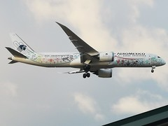 XA-ADL / Boeing 787-9 GE / 43859/483 / AeroMéxico (A.J. Carroll (Thanks for 1 million views!)) Tags: xaadl boeing 7879 787 789 43859483 genx aeroméxico skyteam quetzalcóatl fmck 0d09d0 london heathrow lhr egll 09l