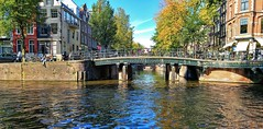 Aan de Amsterdamse Grachten: Leliegracht [Explored} (Peter ( phonepics only) Eijkman) Tags: amsterdam city canals grachten gracht water nederland netherlands nederlandse noordholland holland