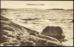 Postkort fra Agder (Avtrykket) Tags: fyr fyrtårn hav holme postkort skjærgård svaberg øy arendal austagder norway nor