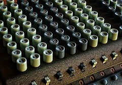 Comptometer (Mr_Pudd) Tags: mechanicalcalculator earlycalculator calculator antiqueofficemachine antique sumlock comptometer afsnikkor50mmf14g
