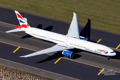 G-STBC BA B77W 34L YSSY-2134 (A u s s i e P o m m) Tags: britishairways ba speedbird boeing b77w b777300er syd yssy sydneyairport sydney newsouthwales australia au