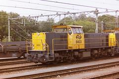 NS 6403 (bobbyblack51) Tags: ns class 6400 mak bobo diesel locomotive 6403 roosendaal 1995