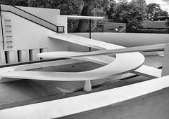 Intertwined (Joseph Pearson Images) Tags: building architecture artdeco londonzoo bertholdlubetkin penguinpool blackandwhite mono bw