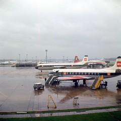 London Airport c63 004 (Captain Martini) Tags: gaohi gapea vickersvanguard vickersviscount bristolbritannia cunardeagleairways bea britisheuropeanairways londonairport heathrowairport