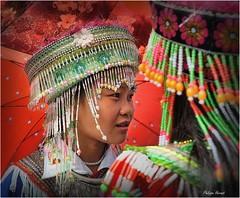 Bac Ha - Haut Tonkin - Vietnam - Nov. 2018 (Philippe Hernot) Tags: bacha vietnam tonkin costume traditions nikond700 nikon philippehernot kodachrome
