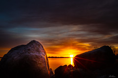 Sunrise Sättuna [Explored] 2019-01-23 (bobban25) Tags: canon eos 80d efs18135mm f3556 is stm linköping östergötland sverige sweden scandinavia canoneos80d canon80d canonefs18135 sunrise early morning flamboyant gaudy silhouette siluett dramatiska moln roxen sättuna