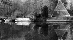 triangles (photomaster22) Tags: boats river water blacks 20mm panasonic g5