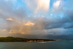 After the rain (Mustang Joe) Tags: public cruise d750 nikon newyears domain caribbean beach rainbow island dominican republic amber cove rain sunrise