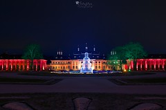 christmas garden Pillnitz (StefleiFotografie) Tags: castle night architecture light pillnitz dresden saxony germany winter schloss