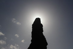 Solar eclipse of sorts (rozoneill) Tags: bandon beach face rock coquille point river devils kitchen oregon coast trail hiking