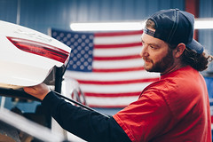 Dents Unlimited Selects-004 (caseymotto) Tags: americanflag autobody car coffee columbia commercial dent fenderbendermagazine fenderbender magazine paint repair
