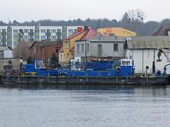 Alpinur I (Parchimer) Tags: wasserbau workboats arbeitsschiff hebeponton greifenhagen gryfino odra oder