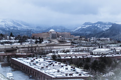 Wintery day in Golden, Colorado (BeerAndLoathing) Tags: 2018 spring mountains cold winter clouds 77d golden colorado ice fog canon usa snow april