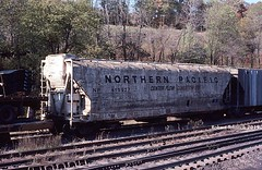 Conditionaire (NSHorseheadSD70) Tags: robert tokarcik bn np burlington northern pacific conditionaire covered hoppers trains railroads railways freight cars sand patch pennsylvania