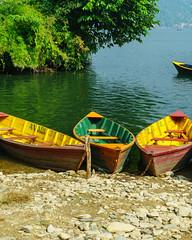 482_Pokhara_12 (andreavarju) Tags: 2018 annapurnasanctuary exploretrip nepal november sony autumn hike hiking mountains nature naturephotography sonyalpha sonyphotography travel travelphotography trekking landscape landscapephotography phewatal lake boats