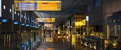 McCarran golden sunrise (George Baritakis) Tags: airport aviation lasvegas terminal photography las vegas people travel travelling