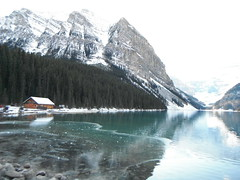 Lake Louise R & R (Mr. Happy Face - Peace :)) Tags: lake louise fairmount banff park national rockies ski hiking outdoors ice mountaints boathouse albertabound can2s art2018 archives snowcaps autumn fall scenery landscape