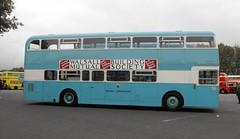 56, XDH 56G, Daimler Fleetline CRC6-36, Northern Counties Body (H51-34D), 1968 (3) (Andy Reeve-Smith) Tags: walsall walsallcorporation westmidlandspte wmpte daimler daimlerfleetline fleetline cummins crc636 56 xdh56g 1968 northerncounties ncme showbus 2018 showbus2018 derbyshire derbys leicestershire leics neleics doningtonpark donington castledonington