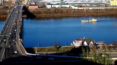 Нижний Новгород (lvv1937) Tags: река город мост катер пристань explore exploré