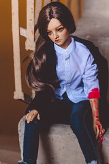 This Girl Can († Jack †) Tags: bjd abjd doll supia supianael supiabjd blood tanbjd