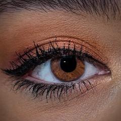 "Brown eyed girl.......""E"" is for eye follow-up (Jack Blackstone-On a break) Tags: pupil lightroom lashes iris cosmetics beauty minimalism 2018 em1markii eye flash macro redux2018 macromondays voweltheme youth complexion skin texture browneye closeup square"