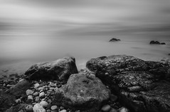 Ethereal of the Sea (Long Exposures/Nature In Landscapes) Tags: delicate exquisite dainty elegant graceful beautiful lovely fineart monochrome longexposure blackandwhite daylightlongexposure ethereal welshscenes naturescenesfromwales colwynbay northwales unitedkingdom