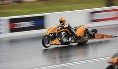 Nitro Supertwin_3267 (Fast an' Bulbous) Tags: drag race track strip bike biker fast speed power acceleration moto motorsport outdoor santa pod nikon racebike dragbike