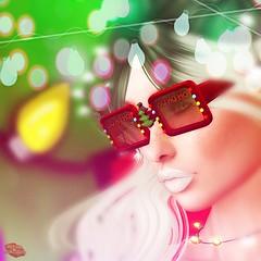 Holiday Cheer Glasses (Rachel Swallows Inworld Elenamicheals Core) Tags: venge hme xmas glasses secondlife fashion christmas