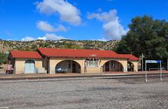 Lamy Station:  Serving Passengers Since 1909 (bkays1381) Tags: newmexico lamy amtrak atsf santafe train station