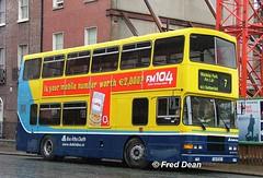 Dublin Bus RA192 (94D192). (Fred Dean Jnr) Tags: april2005 dublin dublinbus busathacliath dublinbusyellowbluelivery volvo olympian alexander r dbrook ra192 94d192 parnellsquarewestdublin gig7158