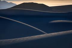 Dark Dunes II (Kirk Lougheed) Tags: california deathvalley deathvalleynationalpark mesquitedunes mesquiteflat usa unitedstates dune dunes landscape nationalpark outdoor park sand sanddune sanddunes