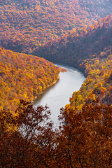 MCZ_2265 (markczerner) Tags: landscape outdoors fall colors fallcolors autumn orange red trees nature river coopers rock coopersrock statepark park west virginia wv wva countryroads country roads cheatriver valley mountains forest