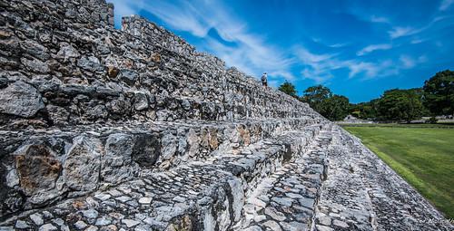 2018 - Mexico - Edzná - Palace Bleacher Tiers